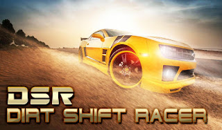 Screenshots of the DSR: Dirt shift racer for Android tablet, phone.