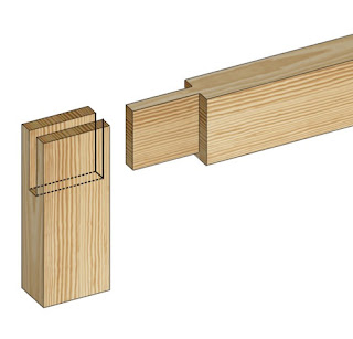 open mortise and tenon