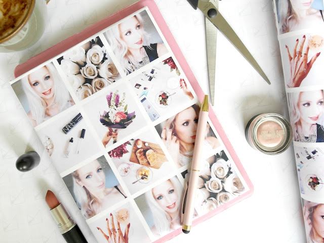personalised wrapping paper by wrap.me, devoted to pink, lifestyle blogger