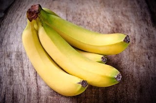 Bananas are a great source of potassium.