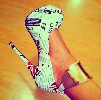 Zapatos de mujer estampados 2015