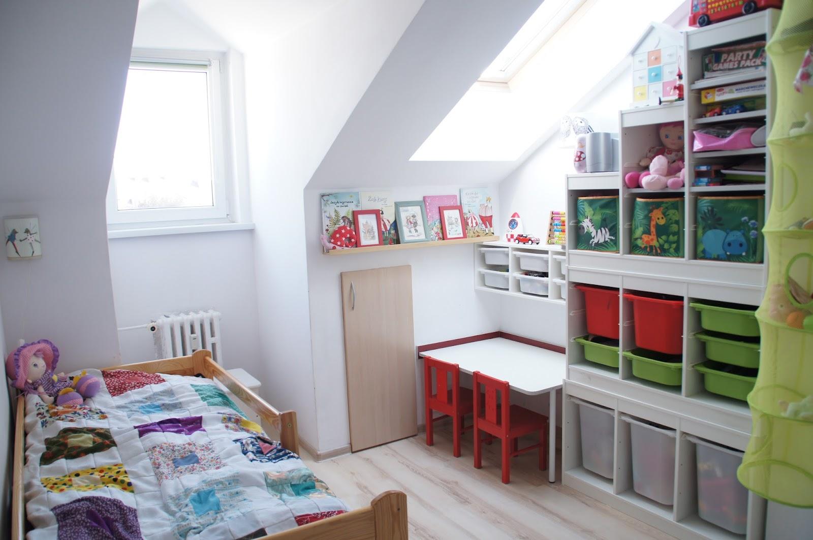 Pokój Dzieci Kids Room Ikea Trofast Tanasza