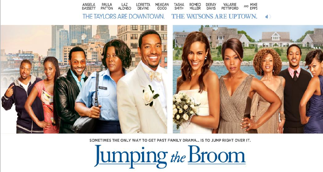 Wedding Week Jumping The Broom Addresses Racial Hangups While