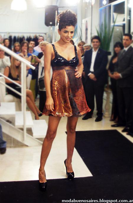 vestidos de fiesta moda 2013 Maureene Dinar verano 2013