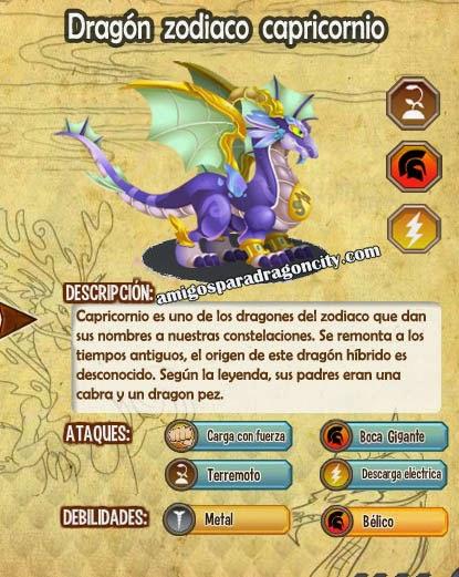 imagen de las caracteristicas del dragon zodiaco capricornio