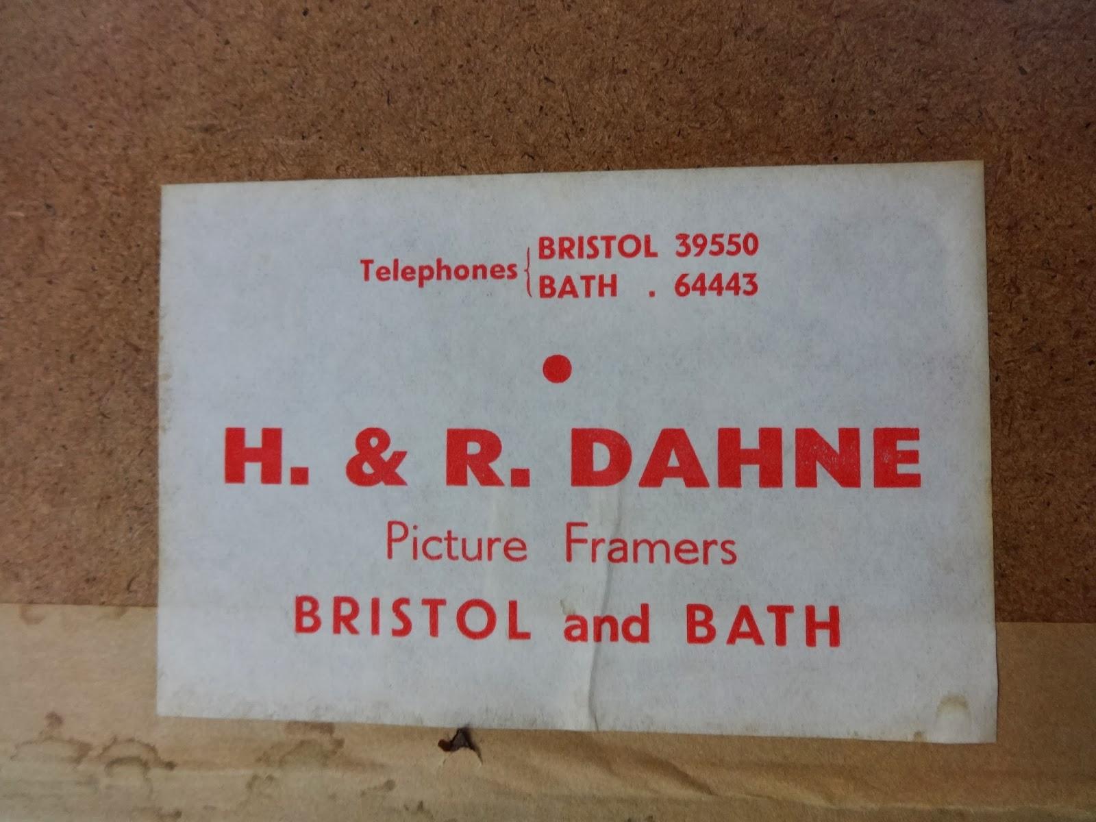 Picture frame labels h r dahne 9614 jeuxipadfo Gallery