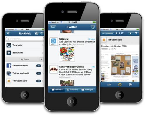 rockmelt preview twitter RockMelt 0.16.0 para iPhone disponível para download