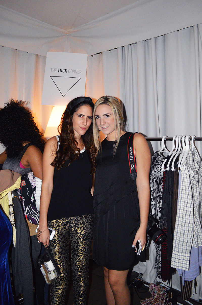 Fashion Blogger Simonette Pereira of Miami Style Mafia and Bib + Tuck Co-Owner Sari Azout