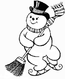 Christmas snowman coloring pages coloring.filminspector.com