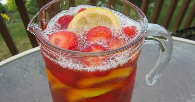 ... Today Cooking Show: Strawberry Rhubarb Ice Tea a Summer Classic