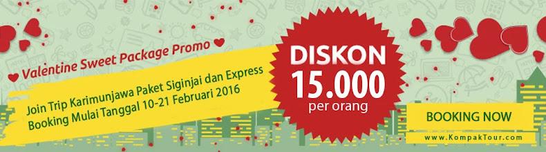 Promo Spesial Valentine Paket Wisata Karimunjawa Mulai 400rb-an