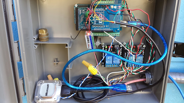 Desert Home Arduino Raspberry Pi Pool Controller And