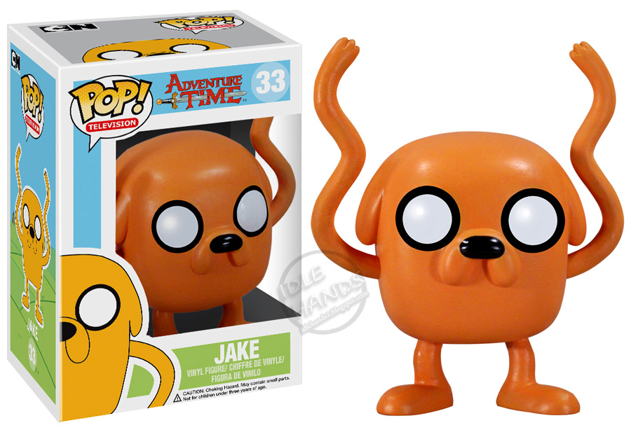 Idle Hands Toy Fair 2013 Funko Adventure Time Pop Vinyl