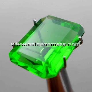 Batu Permata | Green Tektite | Moldavite