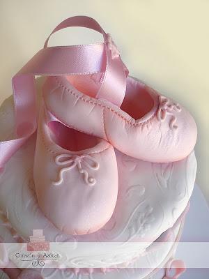 Para Vicky una niña con el corazón de bailarina
