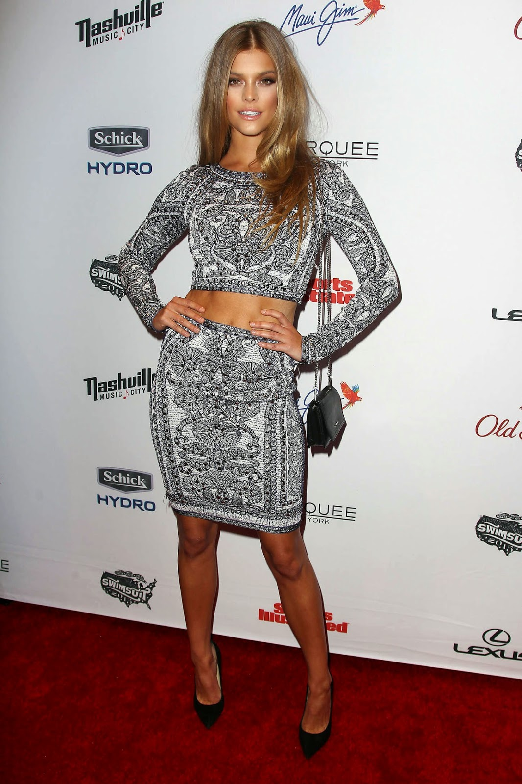 Nina Agdal – 2015 Sports Illustrated Swimsuit Issue Celebration in NYC