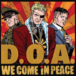 D.O.A. - 'We Come In Peace' CD Review (Sudden Death)