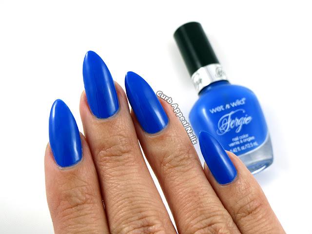 Wet n Wild Fergie Havasu Blue Swatches