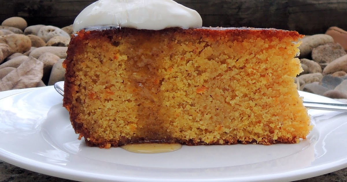 Greek Orange Cake Semolina