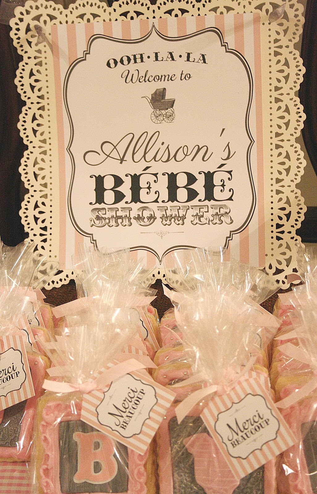 Welcome Bebe Vintage Parisian Baby Shower Celebrating The Moments