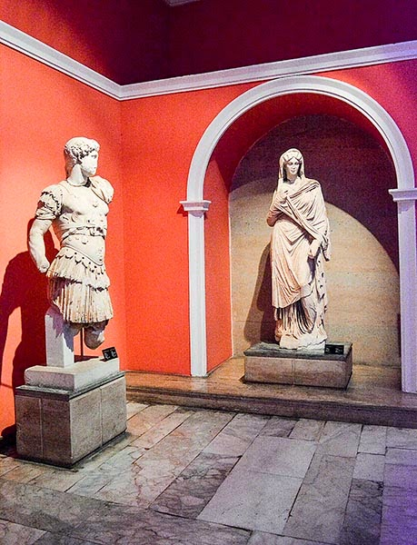 Antalya Archaeological Museum: Roman Sculpture