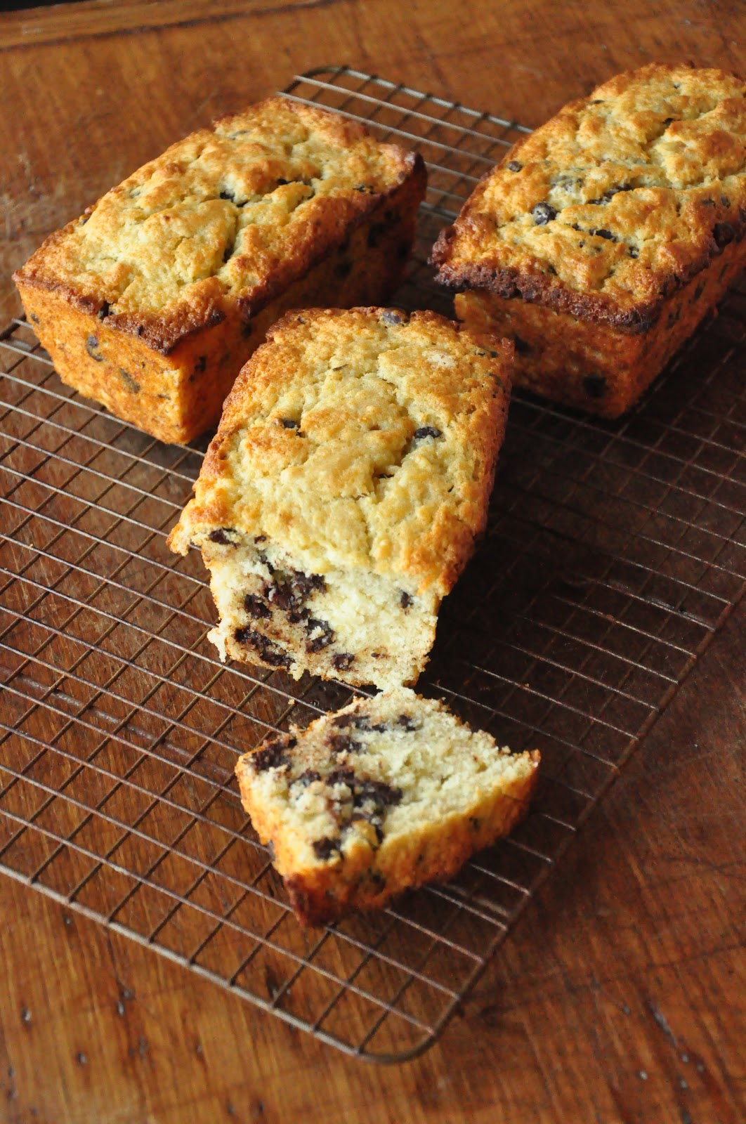 Bite Me: Chocolate Bourbon-Spiked Banana Bread