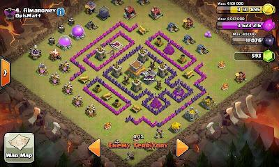 Strategy Menyerang Town Hall 8 Clan War