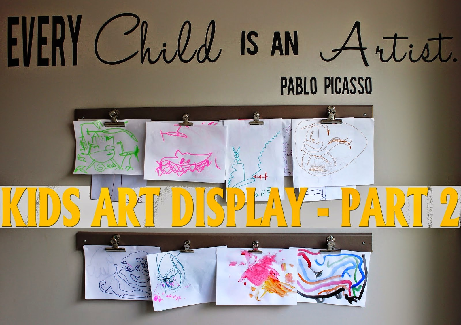 http://www.tryintomakeahome.blogspot.fr/2014/05/kids-art-display-diy-part-2.html