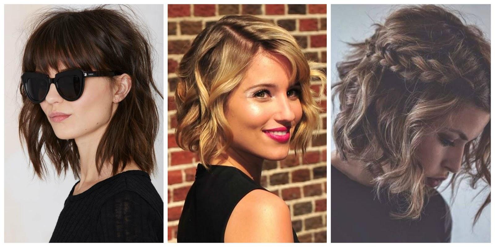 Sukuosenos trumpiems plaukams 2016