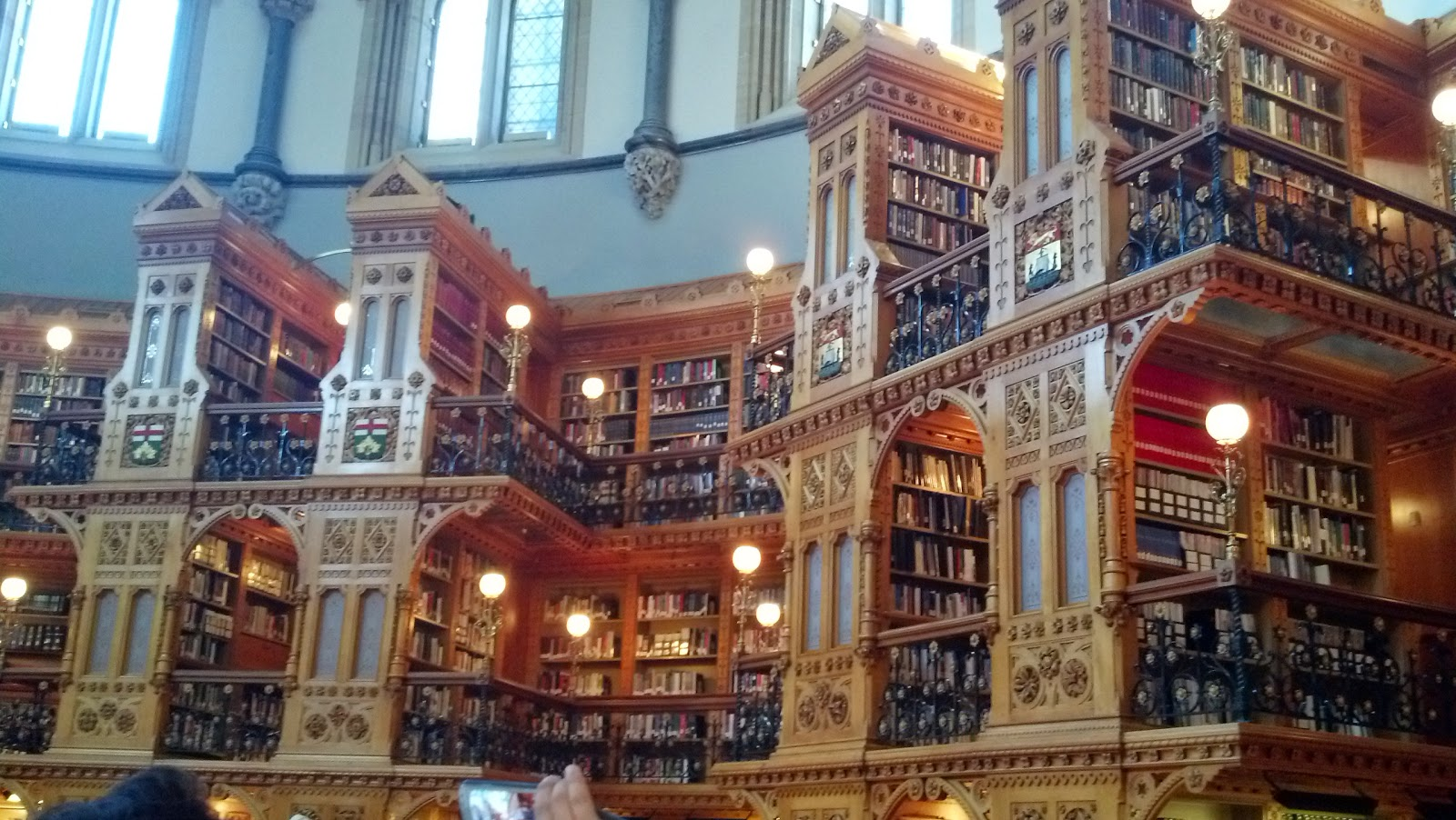 Libraries to Dream of!  Breathtaking Libraries, Books.
