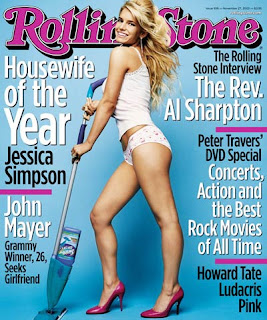 Jessica on Rolling Stone 11/2003