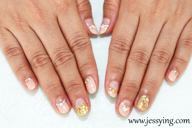 in town!: Review : Pretty Japanese Gel Manicure at Shige Hair Salon