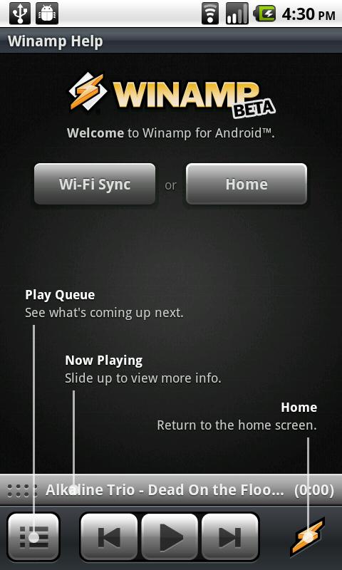 скачать Winamp для Android - фото 11