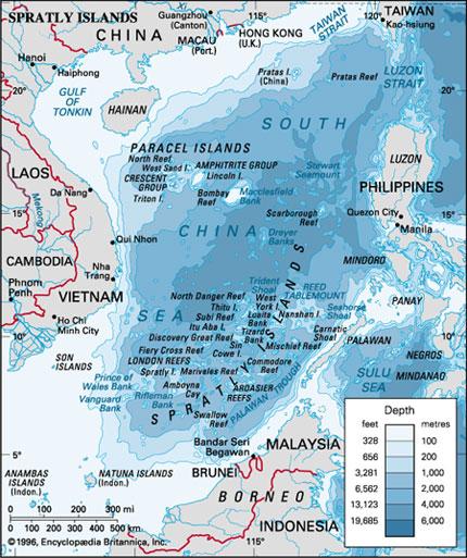 Submarine Matters Chinas South China Sea Island Base Building - Us submarine bases map submar