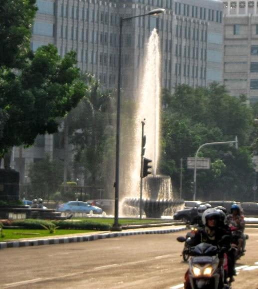 Jakarta water fountain