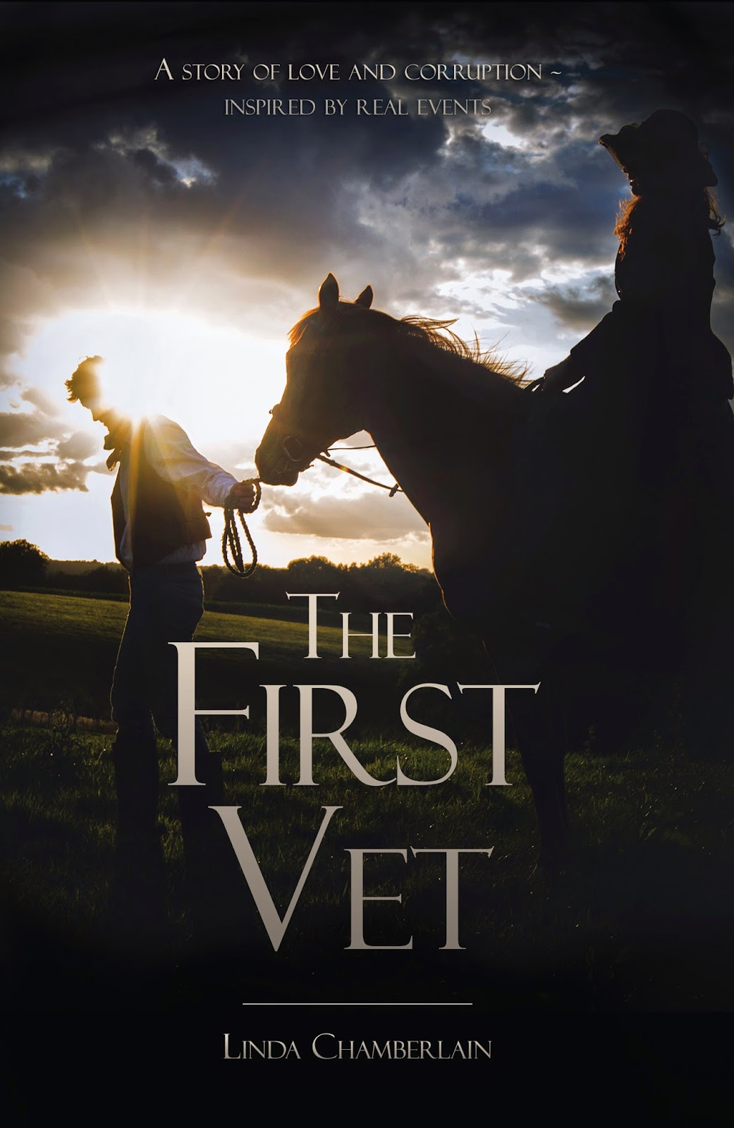 The First Vet by Linda Chamberlain, cover