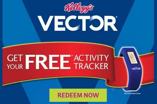 Kelloggs Free Vector Activity Tracker