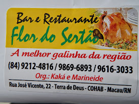 BAR E RESTAURANTE FLOR DO SERTÃO