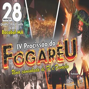 PROCISSÃO DO FOGARÉU 2018