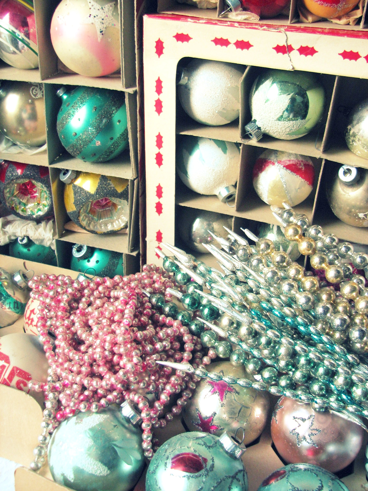 Trisha Brink Design: The Vintage Ornaments Are Coming Out