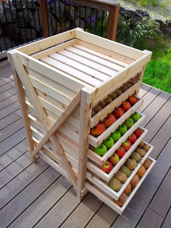 DIY Food Storage Drying Rack