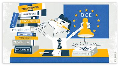 Illustrations réalisées pour le journal interne de l'ACPR Banque de France.