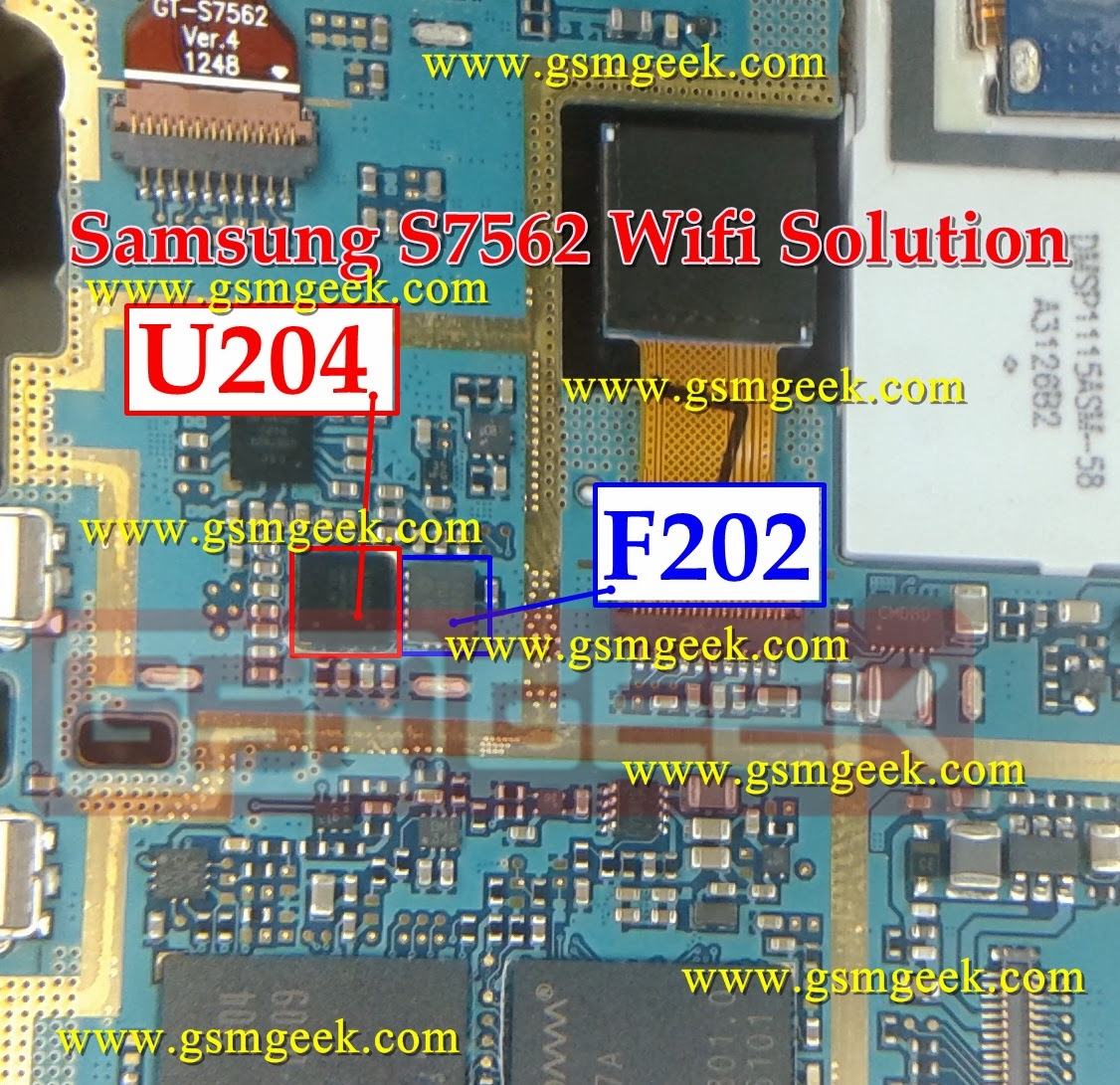 Samsung Galaxy S Duos S7562 Wi-fi problem solution