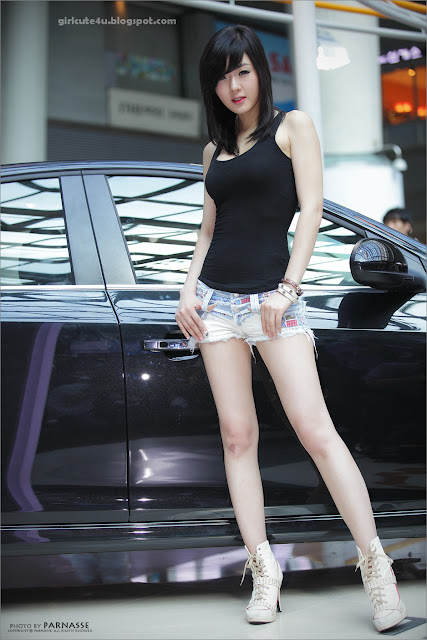 5 Hwang Mi Hee at Chevrolet Exhibitions-very cute asian girl-girlcute4u.blogspot.com