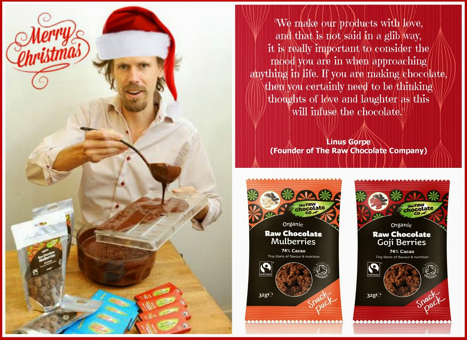 Day 2 - WIN  - Goodies From 'The Raw Chocolate Company