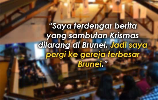 Larangan Krismas di Brunei, lelaki ini buat siasatan dan temui sesuatu yang sangat mengejutkan