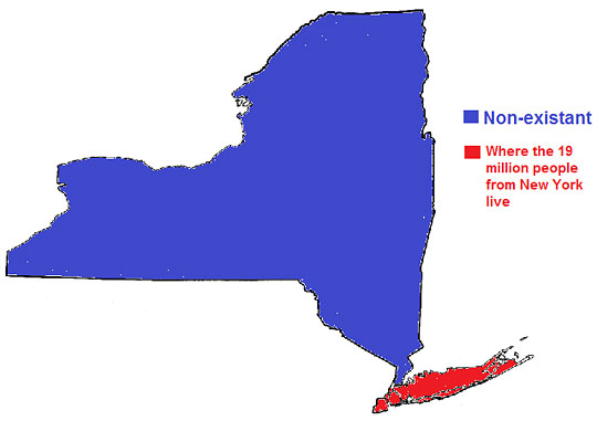 New York As Seen By The Rest Of The United States