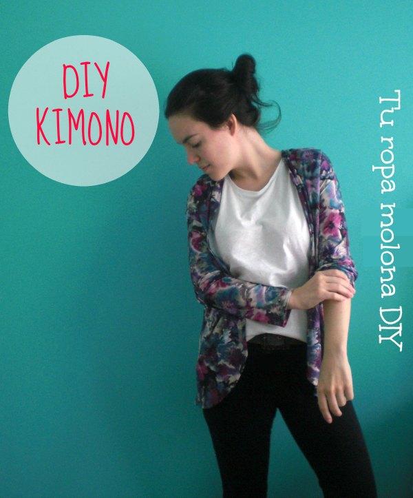 Cómo hacer un kimono