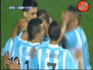 اهداف مباراة الارجنتين وباراجواي 6-1||الاهداف كاملة || نصف نهائى بطولة كوبا أمريكا