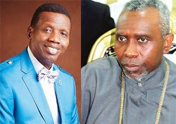 adeboye defends oritsejafor